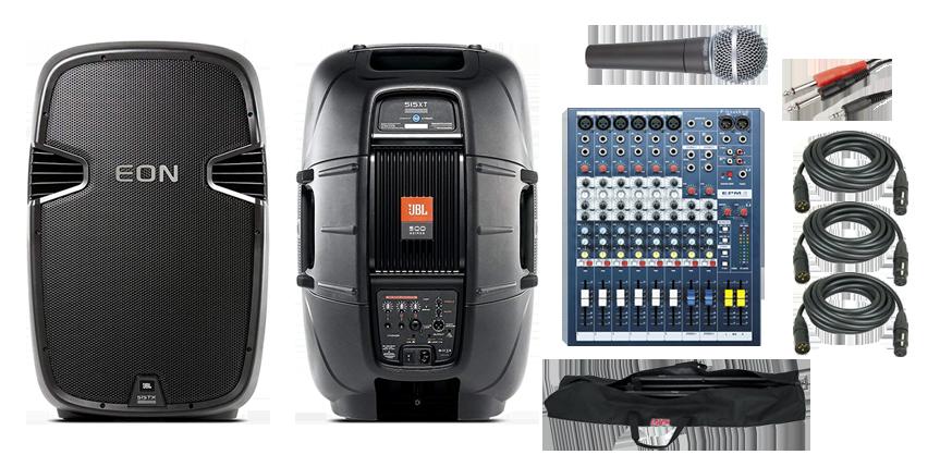 Sound Hire Package Deal Johannesburg Cape Town
