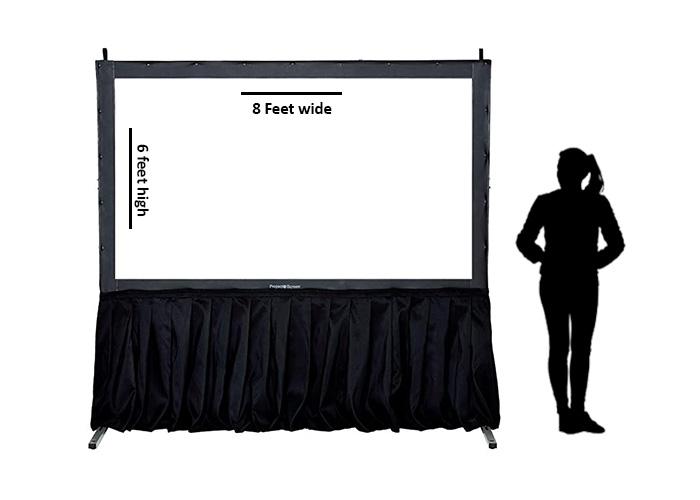 Projector screen hire w